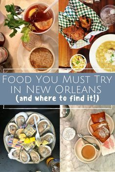 New Orleans is such a great food city! Fried chicken, beignets, gumbo, it's all in New Orleans. This is the food you must try in New Orleans (and where to find it!)