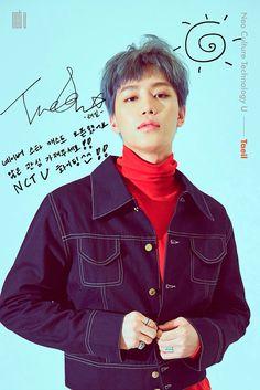 Taeil autograph
