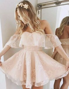 A-Line Homecoming Dress,Lace Prom Dress Short Prom Dresses,Short Pearl Pink Homecoming Dress,Lace Homecoming Dresses,short prom dress Tight Prom Dresses, Cute Homecoming Dresses, Prom Dresses For Teens, Lace Party Dresses, Prom Dresses Blue, Sexy Dresses, Fashion Dresses, Evening Dresses, Dress Party