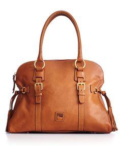 Dooney & Bourke Florentine Domed Buckle Satchel - All Handbags - Handbags & Accessories - Macy's