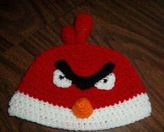 2000 Free Amigurumi Patterns: Angry Birds Hat