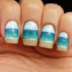 Sea shore nails