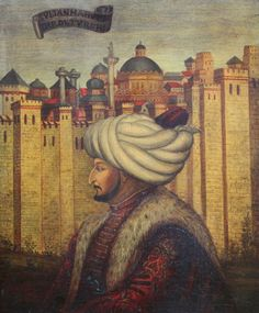 Mehmed II or Sultan Mehmed the Conqueror ceymer 26 Mehmed The Conqueror, Sultan Ottoman, Ottoman Turks, Turkish Army, History Projects, Ottoman Empire, Islamic Art, Painting, Basel