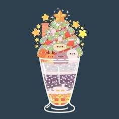 Cute Food Drawings, Kawaii Drawings, Dessert Illustration, Cute Food Art, Art Painting Gallery, Cute Art Styles, Kawaii Wallpaper, Kawaii Art, Cute Images