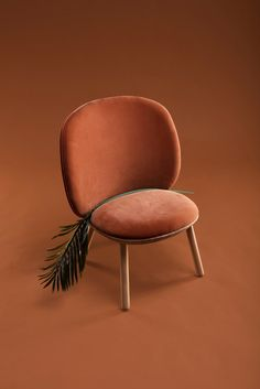 Fabric armchair NAÏVE | Armchair by EMKO UAB