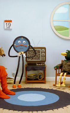"""The Reality-Shattering Puppets Of """"Don't Hug Me I'm Scared"""" Are Back To Upset You And Your Children; http://www.fastcocreate.com/3024485/the-reality-shattering-puppets-of-dont-hug-me-im-scared-are-back-to-upset-you-and-your-child"""
