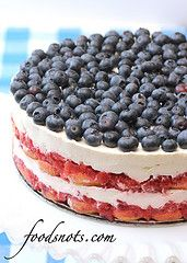 Red, White, and Blue Berry Trifle | by Recipe Snob
