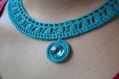 Inspiración | crochet necklace