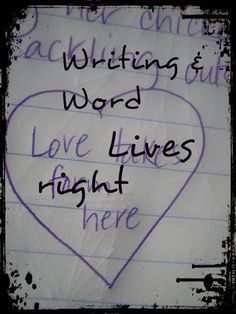 Writing & Word Love Tip: One Sentence - One Word - At a Time