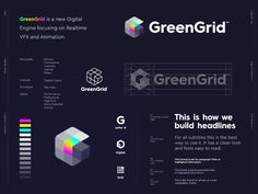 Alternative logo variation of the previous concept for GreenGrid. 🌈GreenGrid is a new Digital Engine focusing on Realtime VFX and Animation.This concept unfortunately went unused but really lov. Golden Ratio In Design, Draw Logo, Behance, Apps, Letter G, Name Writing, Build Your Brand, Logo Concept, Variables