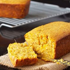 Savory Pumpkin Corn Bread. RECIPE: <br> 1 cup cornmeal<br> 1 cup almond flour (can sub in regular all purpose or another gluten…