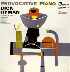 found! but need a better cover - Cover art for Dick Hyman: Provocative Piano, 1960. Command Records - The Art of S. Neil Fujita