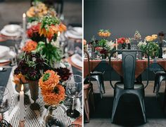 Urban Copper Wedding Inspiration - Inspired By This