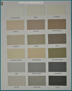 paleta Autentico Vintage Chalk Paint dla Polski cz. 1/3