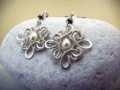 50 OFF  Celtic Enchant Earrings DIY Jewelry Pattern by decors, $7.50