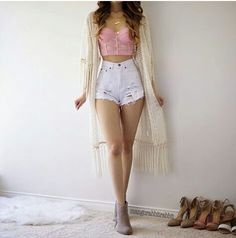 45 best summer outfit ideas that are big on style, low on effort 22 em 2019 Cool Summer Outfits, Cute Casual Outfits, Girly Outfits, Simple Outfits, Pretty Outfits, Stylish Outfits, Teenage Outfits, Teen Fashion Outfits, Cute Fashion