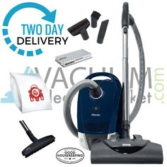 Miele c2 compact electro plus canister vacuum cleaner