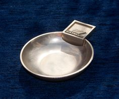 RARE Vintage Air France Concorde Ash Tray First Class Chrome Ashtray Snack Dish by Triggerstreasure on Etsy Vintage Air, Vintage Dolls, Vintage Silver, Retro Vintage, Pin Box, Snacks Dishes, Dart Board, Air France, Concorde