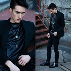 Around The Collar Bolo Tie, Sammy Dress Shoes, Choies Faux Snakeskin, Cheap Monday Black Jeans