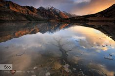 Finding Middle Earth by SonielDalumpines  filipino landscape photographer ice lake lake landscapes middle earth moke lake new zealand new zeal