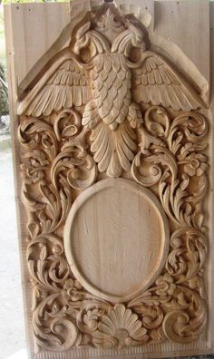 No automatic alt text available. Wood Carving Designs, Wood Carving Patterns, Woodworking Techniques, Woodworking Projects, Beats Wallpaper, Wooden Architecture, Floral Tattoo Design, Bone Carving, Wooden Art