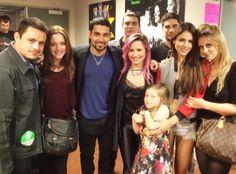 Demi Lovato's Boyfriend Wilmer Valderrama and His From Dusk Till Dawn Costars Attend Singer's Concert?See the Pic! | E! Online Mobile
