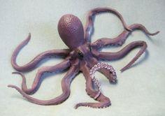 Giant Foam Posable Octopus Squid Novelty Prop