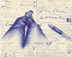 Balpen Tekeningen & Sketches