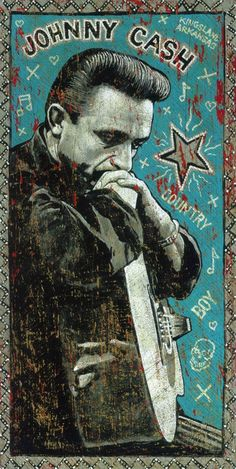 """""""Country Boy"""" by Jon Langford is part of the art display at Space Gallery through May 21."""