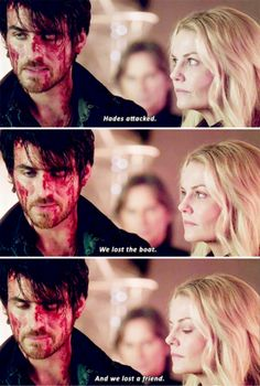 """Killian Jones and Emma Swan - 5 * 14 """"Devil's Due"""" Captain Swan, Captain Hook, Best Tv Shows, Best Shows Ever, Once Upon A Time, Devil's Due, Sean Maguire, Between Two Worlds, Hook And Emma"""