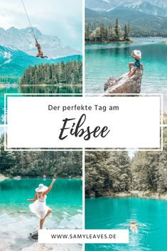 A perfect day at lake Eibsee : If you come to Germany, spend some time at lake E. Holidays Around The World, Travel Around The World, Around The Worlds, Places To Travel, Places To Go, Camping Photography, Night Photography, Travel Aesthetic, Germany Travel