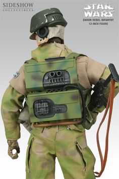 Sixth Scale Figure - Endor Rebel Infantry #2110