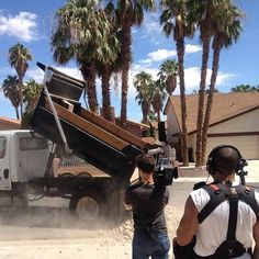 Landscaping day is a good day.  That means we are almost finished! #HouseFlipping #FlippingVegas