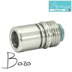"The ""Bozo"" is a Hybrid driptip made for Billetbox"