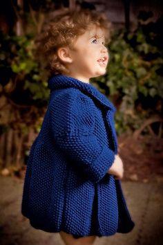 Kinderjacke stricken: Anleitung und Strickschrift
