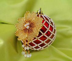 Beautiful beaded Christmas Balls   Beads Magic