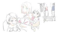 Sasuke and Sakura Sasuke Sakura, Naruto Und Hinata, Boruto And Sarada, Naruto Shippuden, Naruto Family, Boruto Naruto Next Generations, Natsume And Mikan, Naruto Clans, Manga