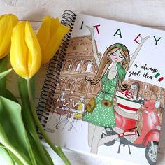 Dot Grid Notebook, Uk Shop, Notebooks, My Etsy Shop, Dots, Italy, Shopping, Atelier, Italia