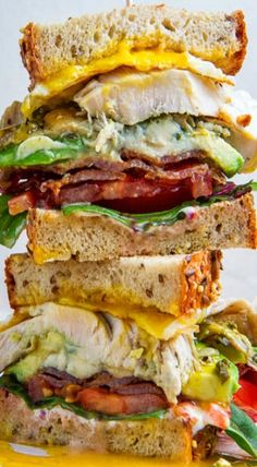 Cobb Club Sandwich Recipe — Dishmaps