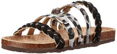 Muk Luks Women's Mary Strappy Fisherman Sandal, Grey Leopard, 6 M US. Lay claim to your vast territory with the Mary Terra Turf Sandal. Soft genuine leather strappy upper with braids and a single buckled strap. Easy slip-on style. Adjustable straps with buckle closures. Smooth man-made lining. Lightly padded footbed. Textured rubber outsole. Imported. Measurements: Weight: 8 oz Product measurements were taken using size 9, width M. Please note that measurements may vary by size.
