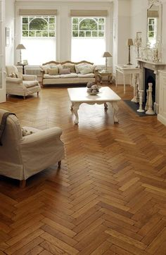 Oak Aged Pre-oiled Parquet : Wall & floor coverings by The Natural Wood Floor Company