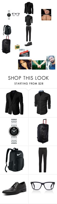 """""""Seth arriving at arena for Battleground 2014 (Seth's Outfit)"""" by wwetnagirl ❤ liked on Polyvore featuring WWE, Doublju, Movado, The North Face, NIKE, Prada, Julius Marlow, Tom Ford, men's fashion and menswear"""