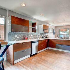 Humboldt Investment Property - modern - Kitchen - Denver - Viridis Design Studio, Inc.