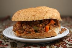 Low Fat Sloppy Joes (7 pts. + and that includes an entire bun!)