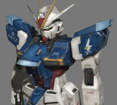 The ZGMF-X56S Impulse Gundam is a Mobile Suit, it is first featured in the anime series Mobile Suit Gundam SEED Destiny. Piloted by Shinn Asuka.
