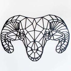 Geometric Quilt, Geometric Drawing, Geometric Art, Tattoo Goat, Meaningful Word Tattoos, Black Ink Art, Silhouettes, Wood Burning Art, Stained Glass Patterns