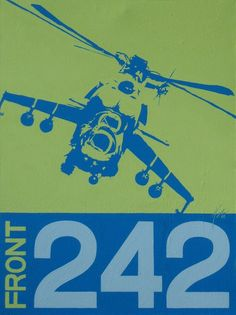 Front 242. Stencil Arts