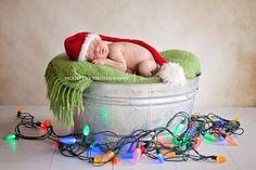 newborn christmas how sweet!