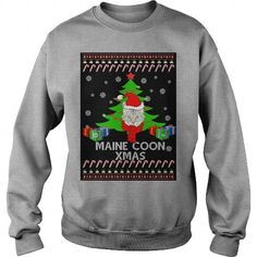 Merry Maine Coon Christmas 2016 Crew Sweatshirts T-Shirts, Hoodies ==►► Click Order This Shirt NOW!