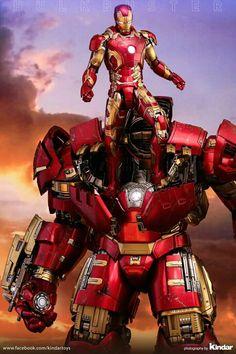 Versão final do Hulkbuster da Hot Toys Marvel Dc Comics, Marvel Heroes, Marvel Cinematic, Marvel Avengers, Logo Superman, Iron Man Fan Art, Iron Man Avengers, Mileena, Iron Man Tony Stark